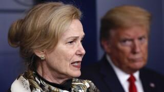 Deborah Birx Donald Trump