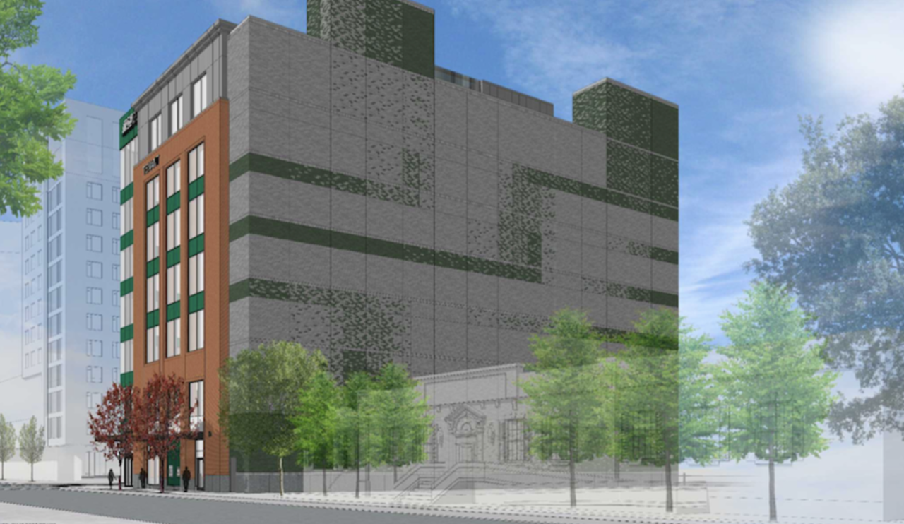 MSUFCU office building will be right next to Dublin Square