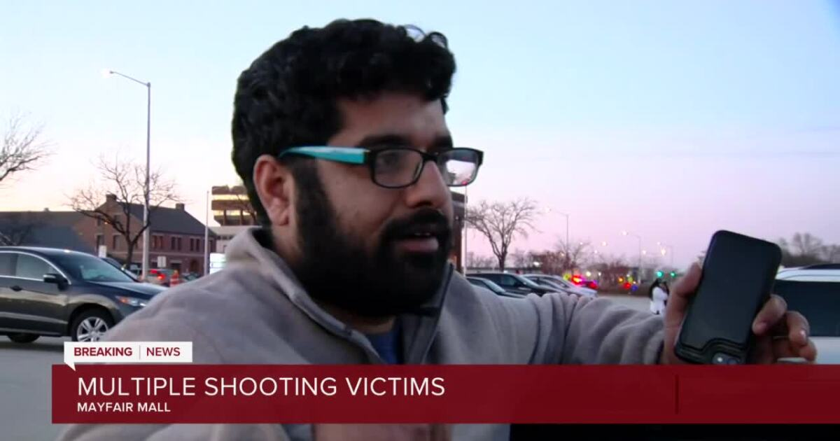 'I'm furious about this': Witnesses describe mass shooting at Mayfair Mall