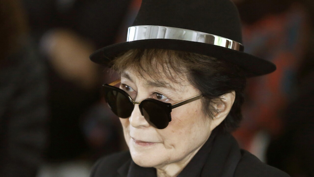 Yoko Ono shuts down sale of lemonade company's 'John Lemon' drink