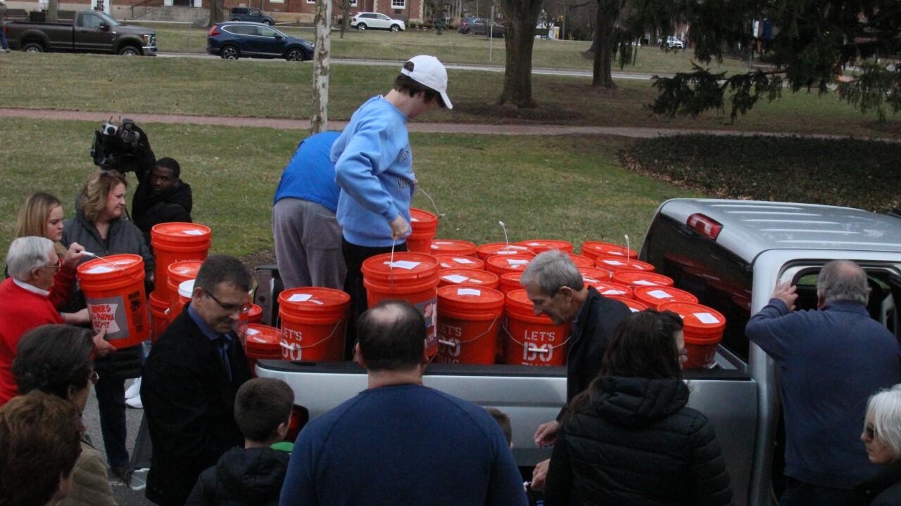 Ohio Church sends relief buckets to Nebraska
