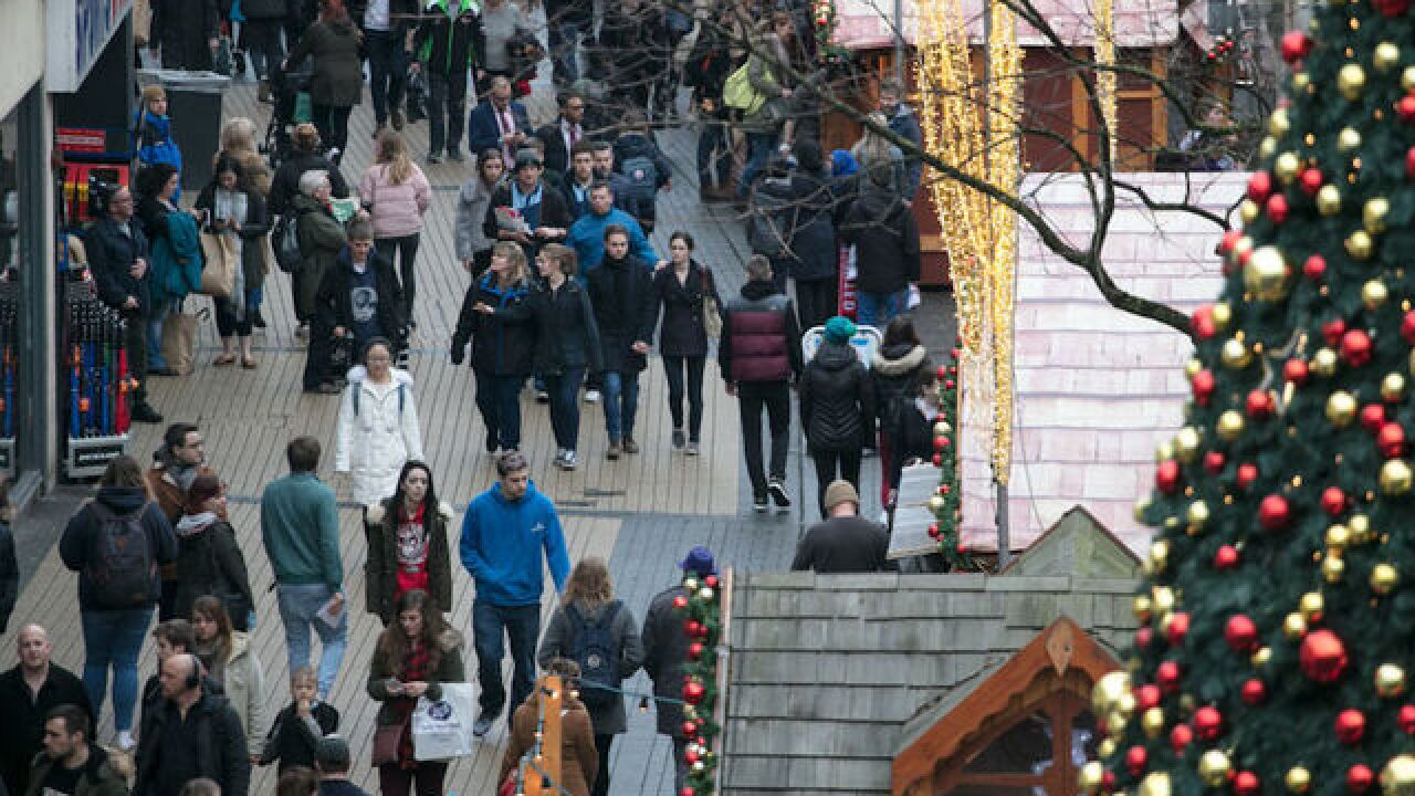Shoppers will be out in force today; investors back to full day of trading