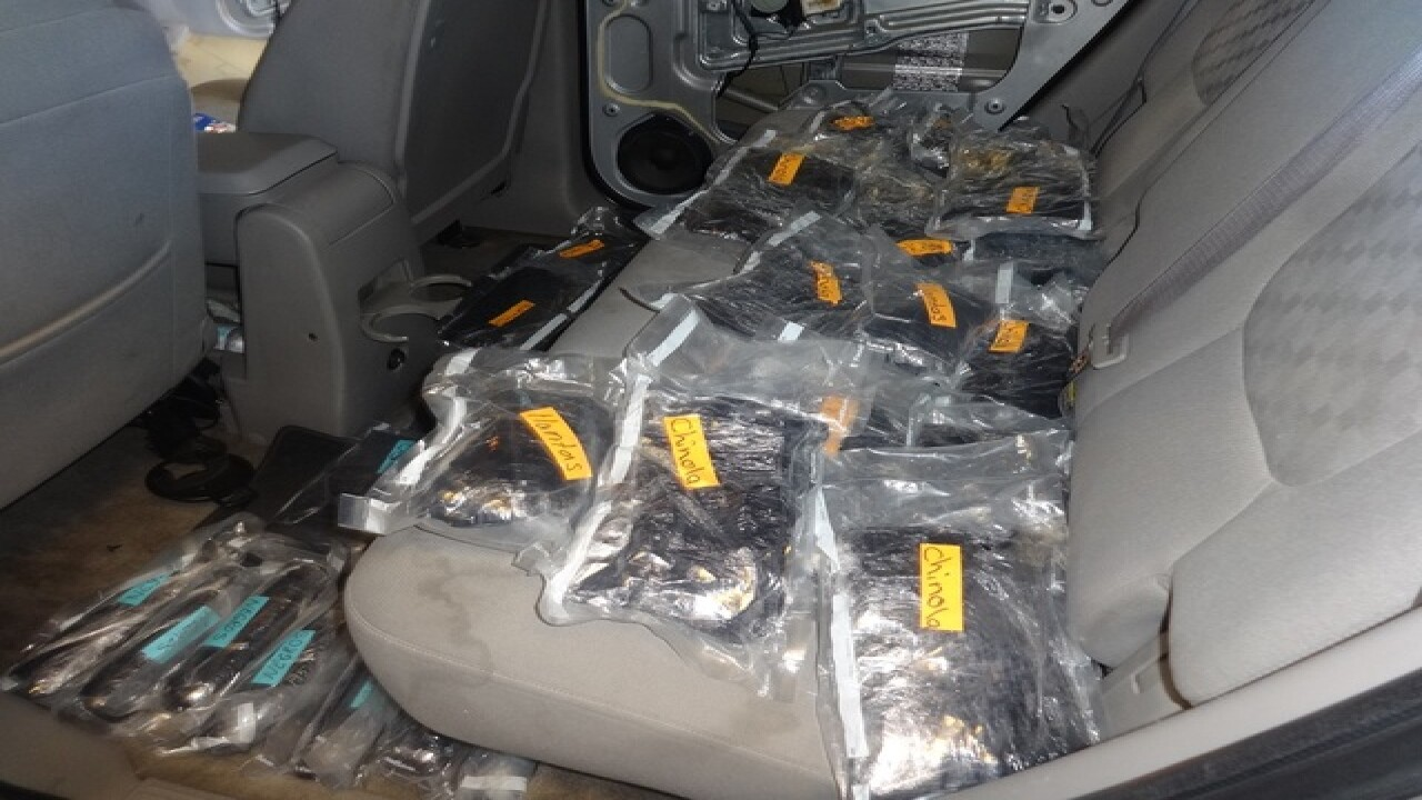 Border agents seize drug trifecta in $500M bust