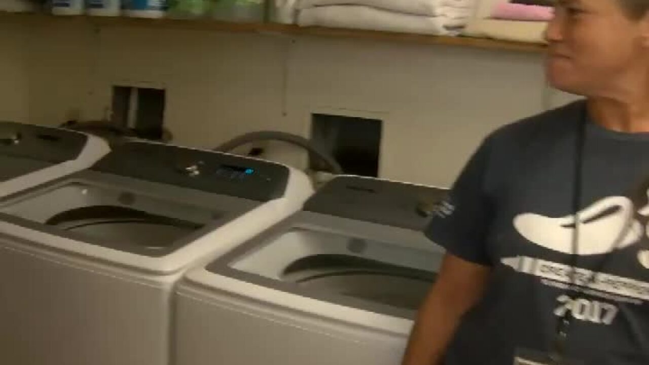 Good Samaritan laundry facilities