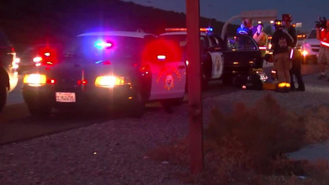 Pursuit on I-15 reaches 130MPH; driver detained