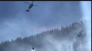 Wildfire north of Missoula grows to 182 acres