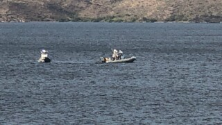Search for missing jet skier at Lake Pleasant
