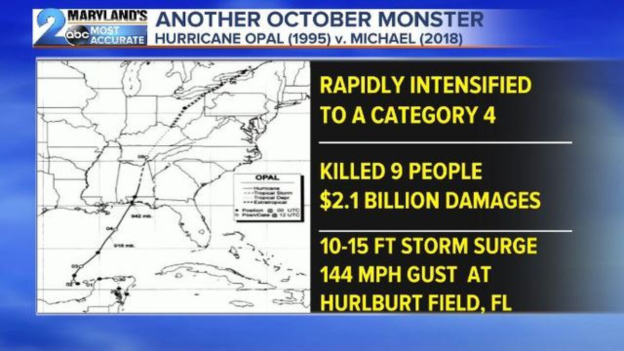 Another October Monster- Hurricane Michael