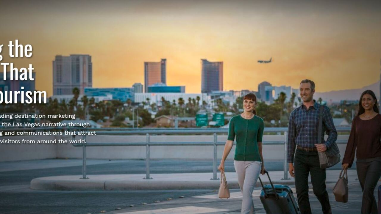 """The Las Vegas Convention and Visitors Authority revealed a new slogan for Las Vegas, """"What Happens Here, Only Happens Here,"""" in January 2020."""