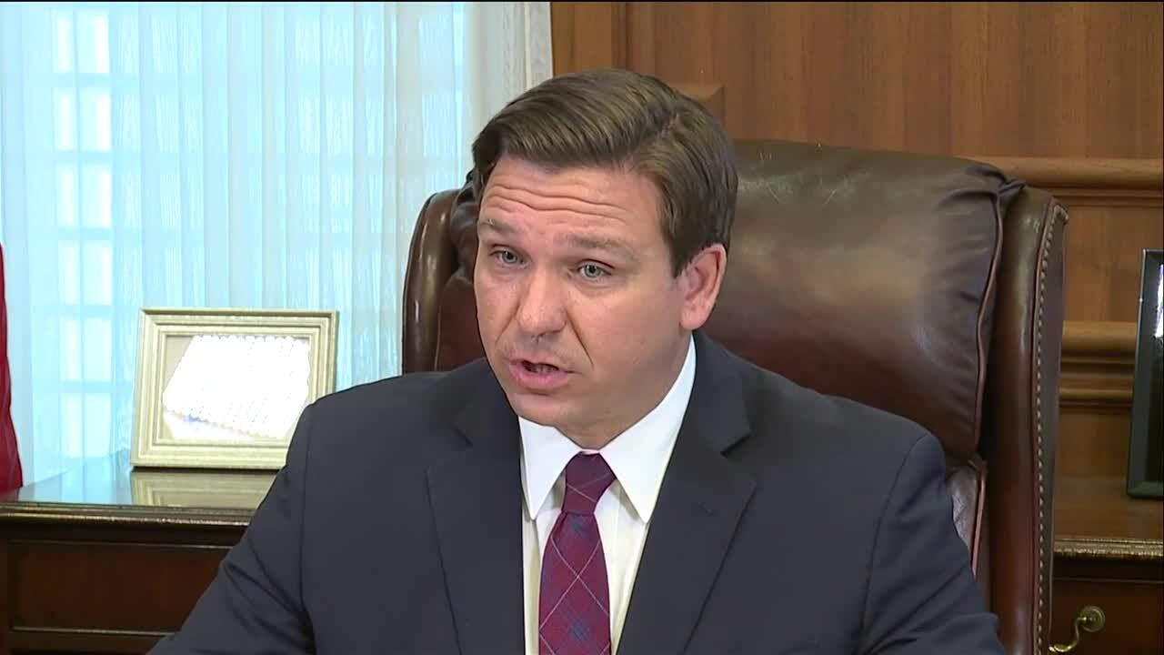 Gov. Ron DeSantis won't enact stay-at-home orders
