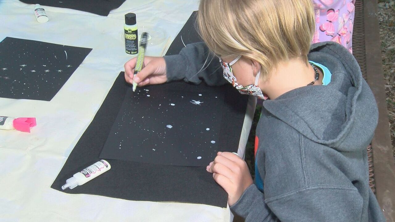 How to Make Glow-In-The-Dark Maps: We're sharing some fall-inspired recipes and art projects for kids.
