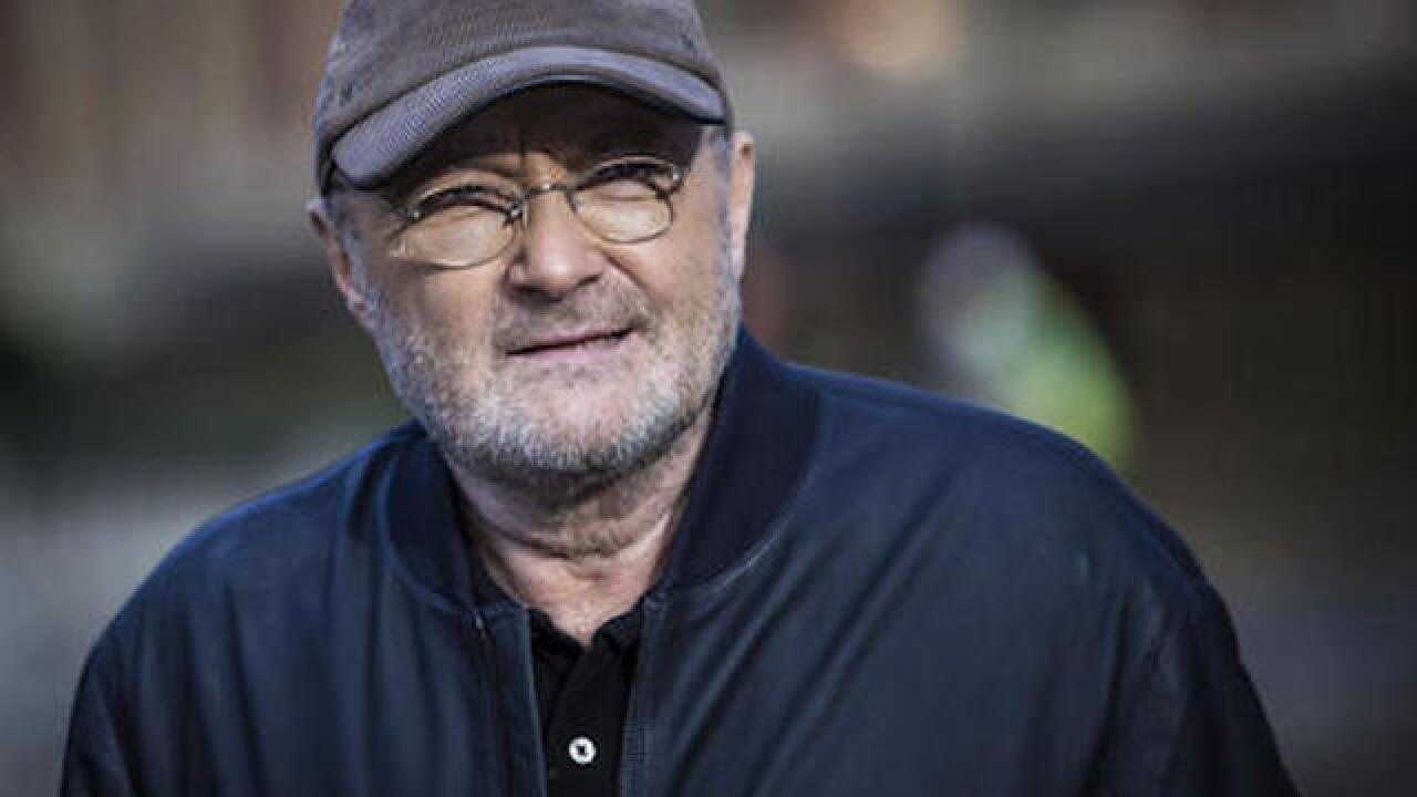 Singer Phil Collins announces new tour