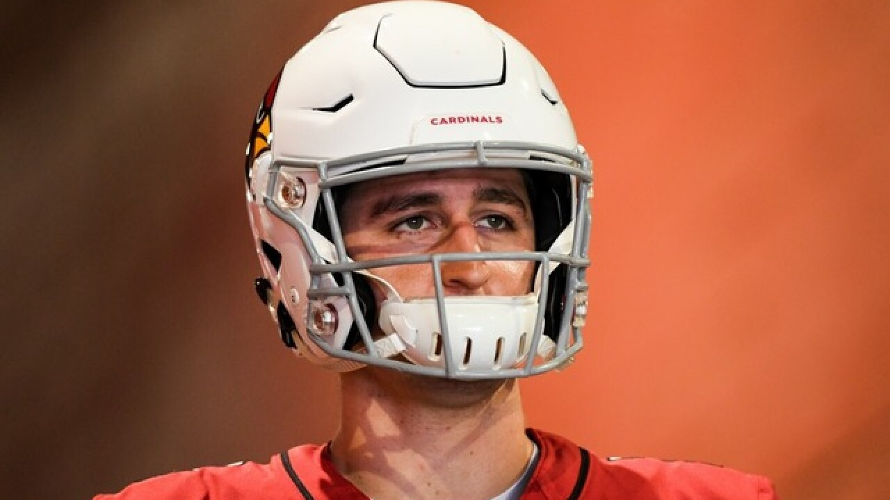 Josh Rosen makes debut late in game, but Cards come up short in loss to Bears