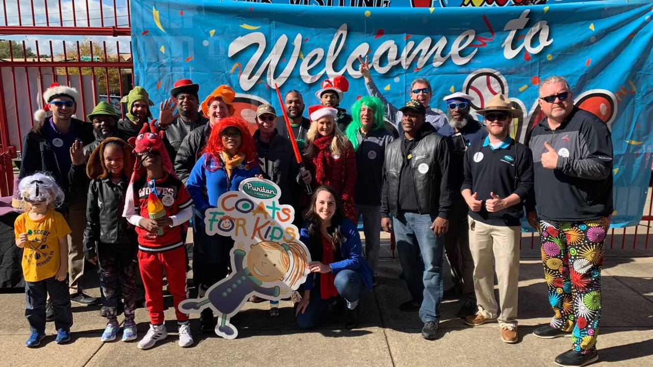 Ballpark Warming Party nets 600 coats for kids