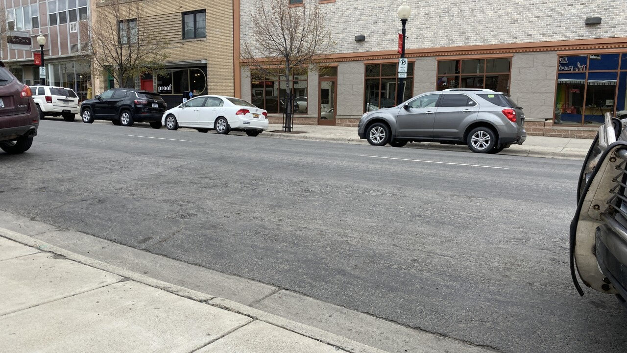 Downtown Parking Spaces