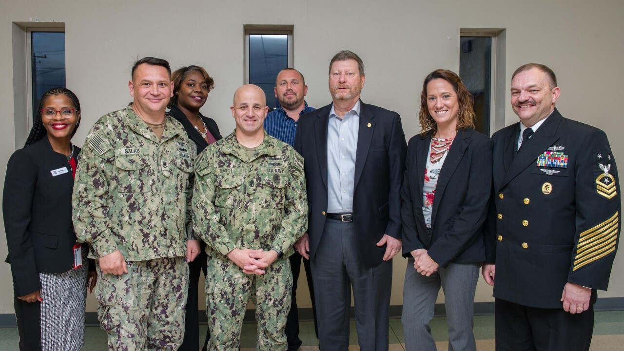 Master Chief Petty Officer of the Navy visits Lincoln Military Housing