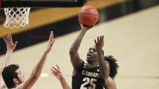 Wright, Colorado hold off Oregon State 61-57