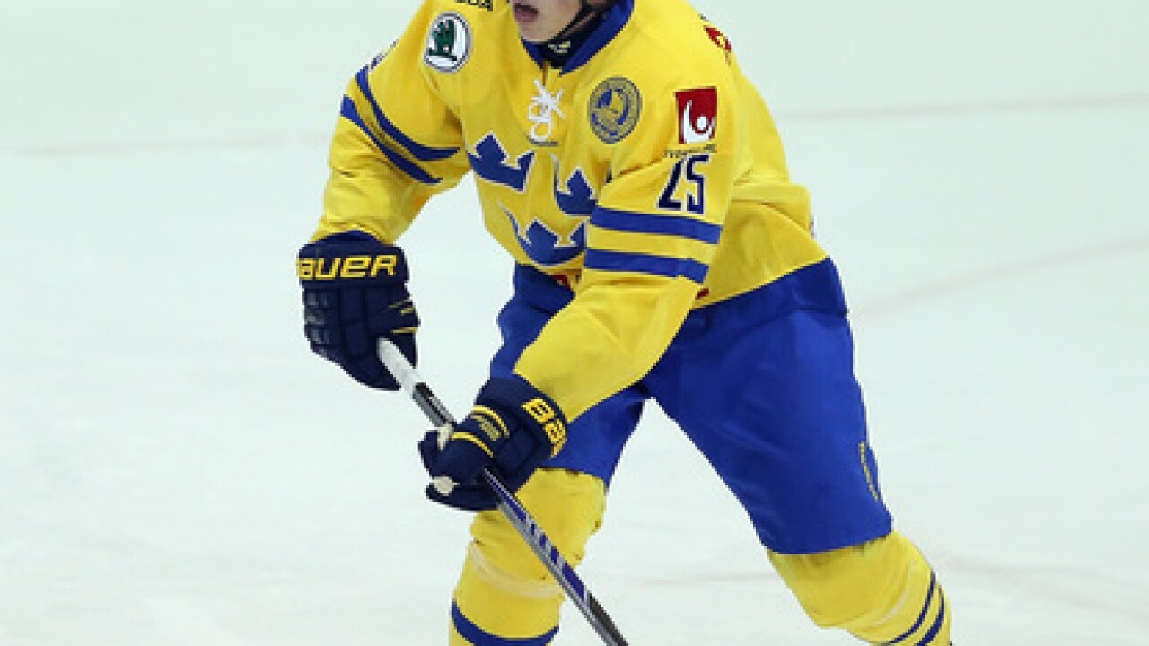 Buffalo Sabres sign Swedish defenseman Lawrence Pilut
