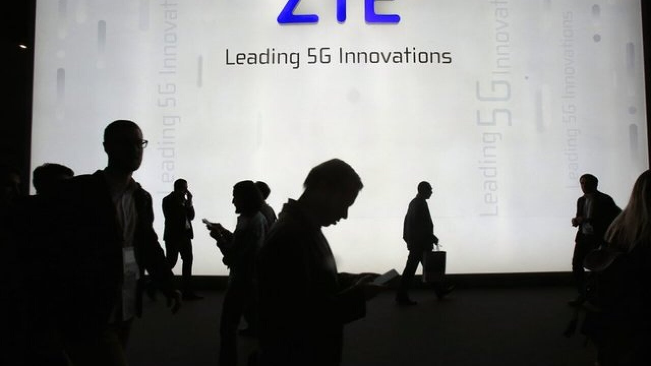 ZTE can do business with U.S. again
