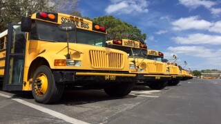Overcrowded school bus causing problems in Polk