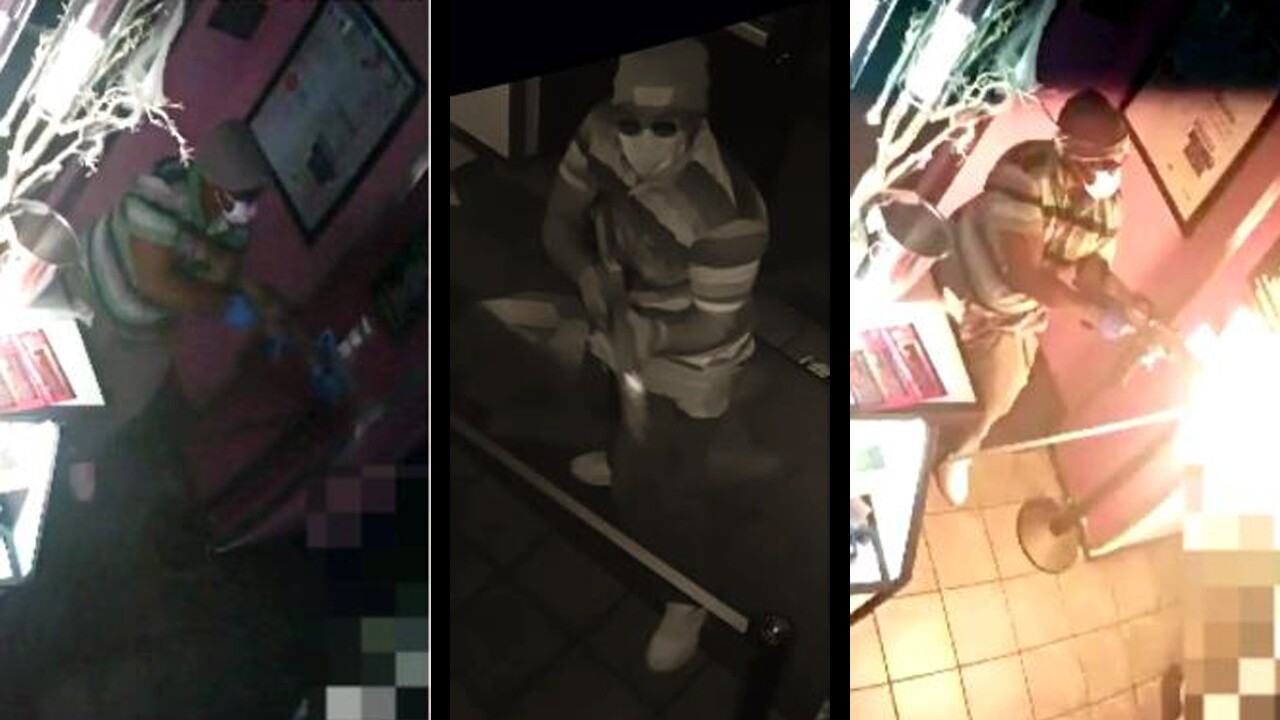 The Tucson Police Department released these photos of the man who shot and killed one person inside Ten's Showclub in midtown Tucson early Sunday morning.