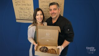 A couple had to shut the doors of their gourmet dessert company in Boca because there was no demand for their tasty creations.  But now, they are reinventing themselves by still using what they know with their new business in Lake Worth.
