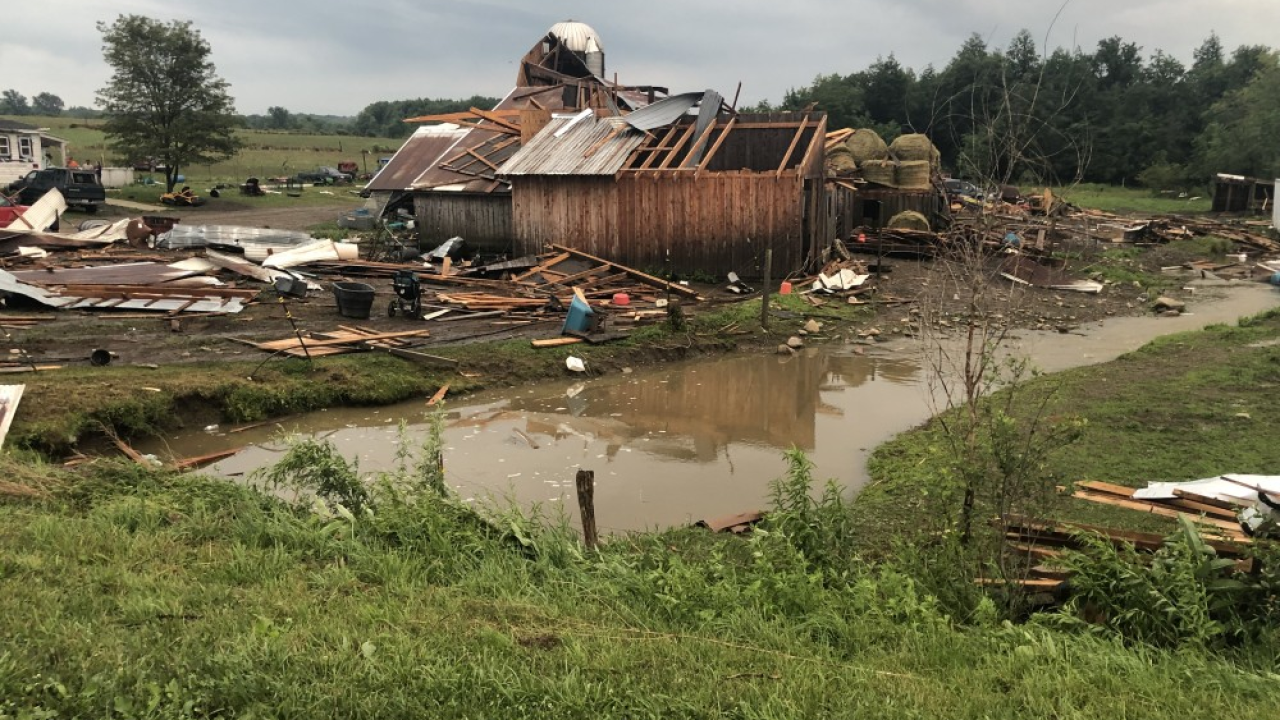 National Weather Service Tornado That Touched Down In Portland On Thursday Was An Ef 1