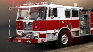 Stock photo firetruck
