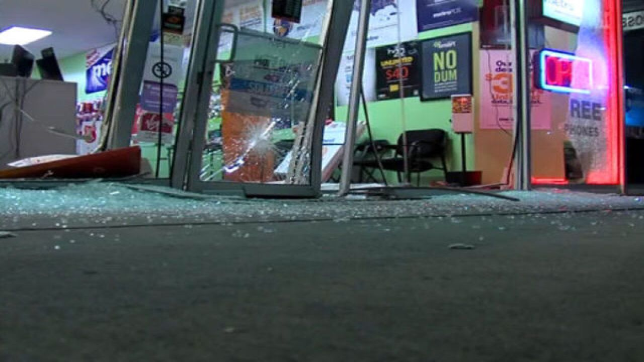 VIDEO: Reward offered in Akron smash-and-grab