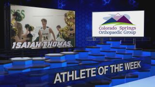 KOAA Athlete of the Week: Isaiah Thomas, Manitou Springs Boys Basketball
