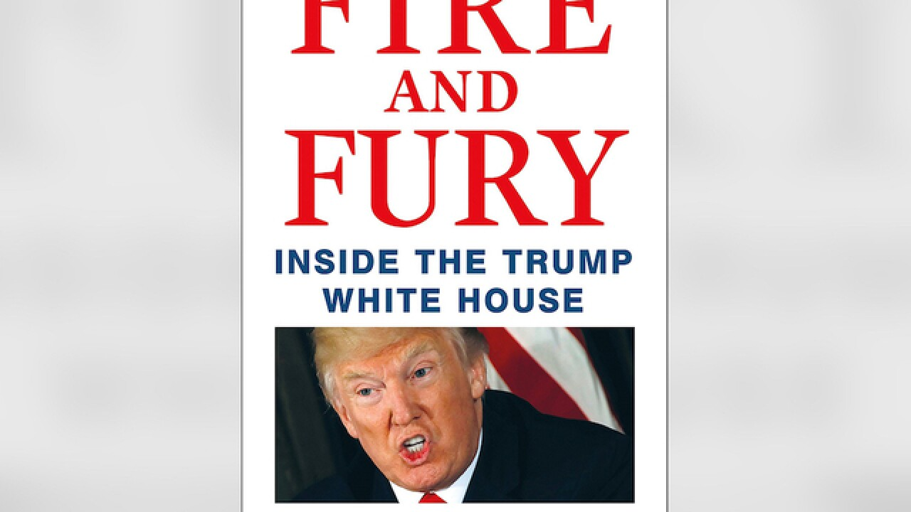 'Fire and Fury' book that has stirred White House available to public today