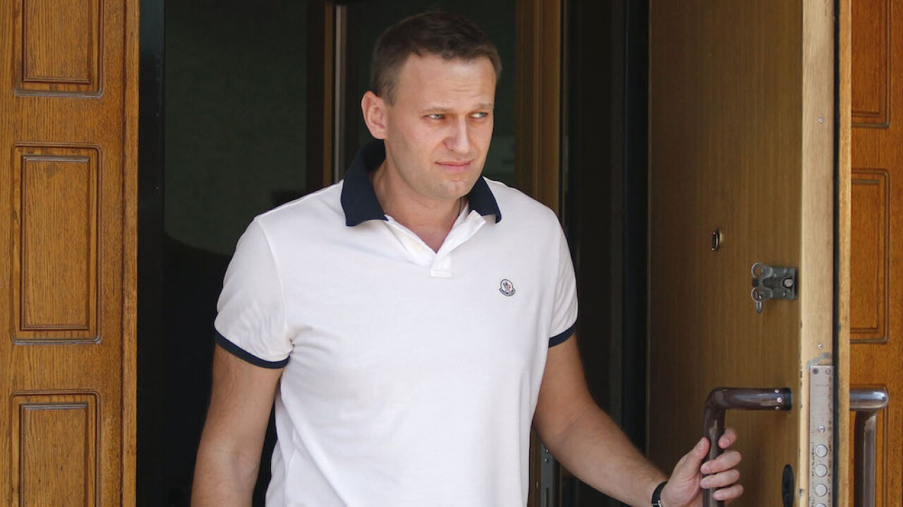Russian opposition politician Alexei Navalny in coma after suspected poisoning