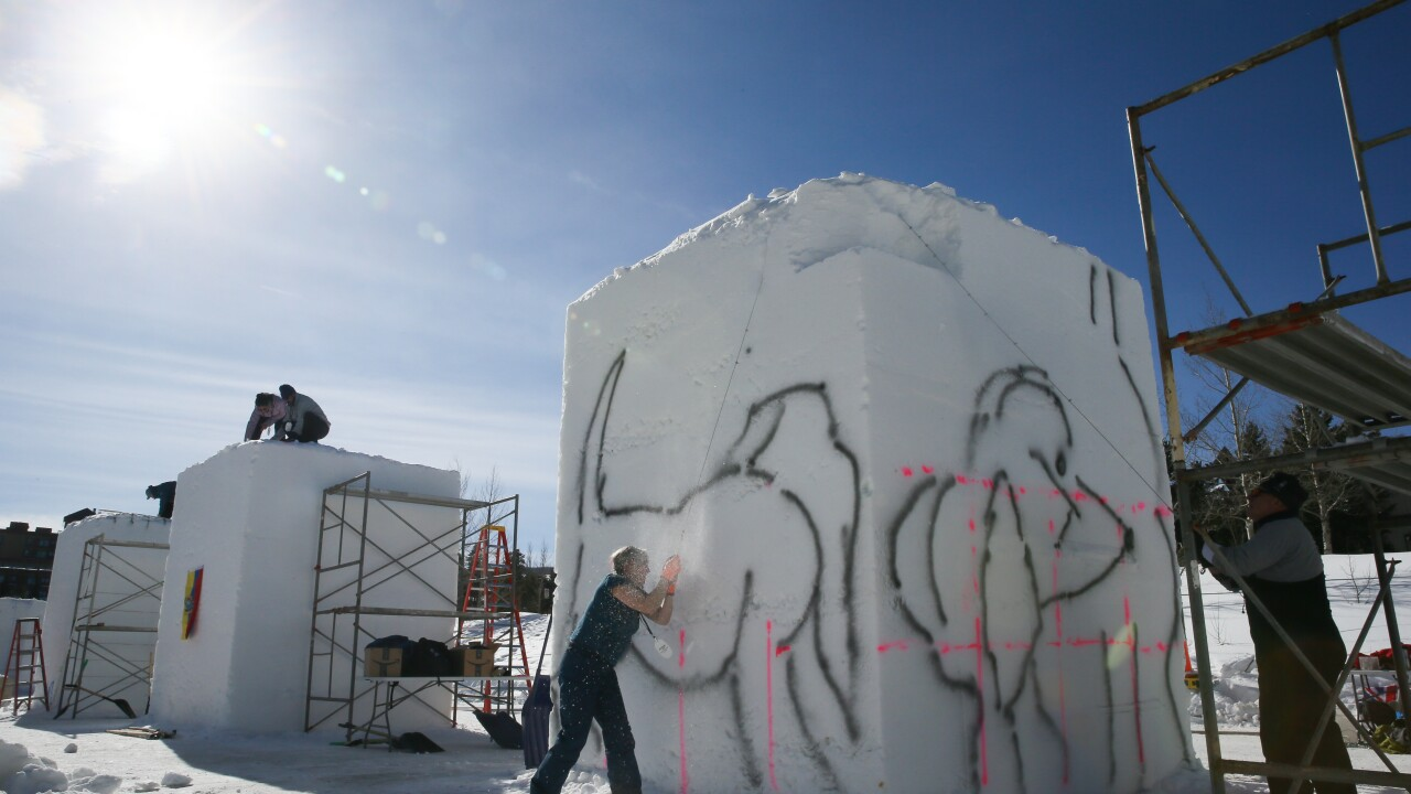30th Annual International Snow Sculpture Championship 2020