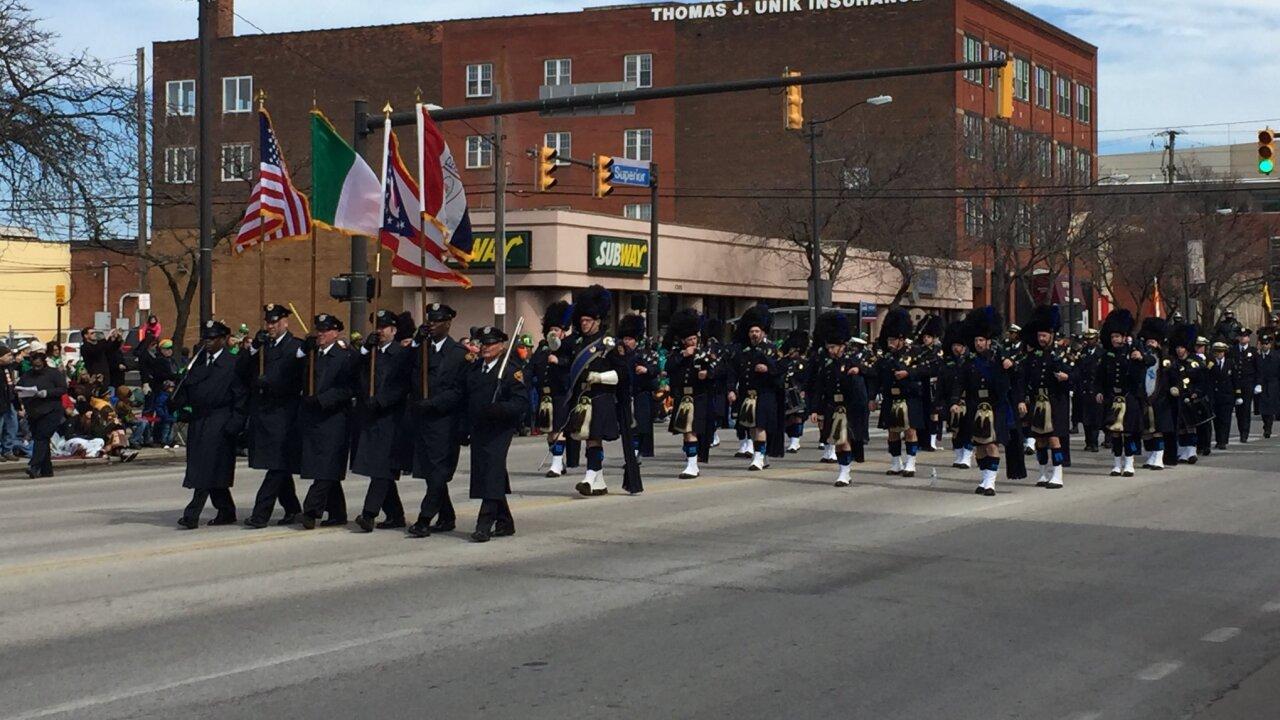 Cleveland St. Patrick's Day Parade 2019