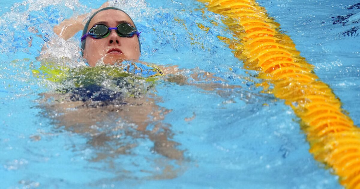 Olympic gold medalist swimmer hospitalized for COVID-19