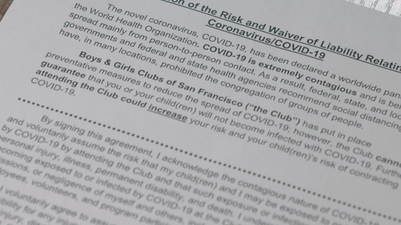 As colleges reopen, students could be asked to sign COVID-19 waivers
