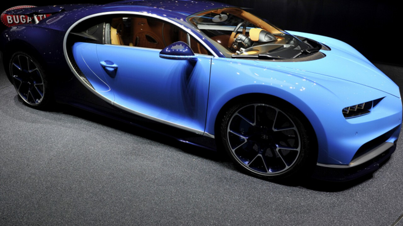 $2.6M Chiron is the new fastest car in the world