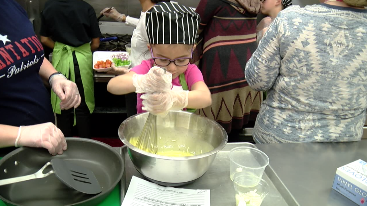 7th Annual Breakfast of Champions Kids Cooking Contest