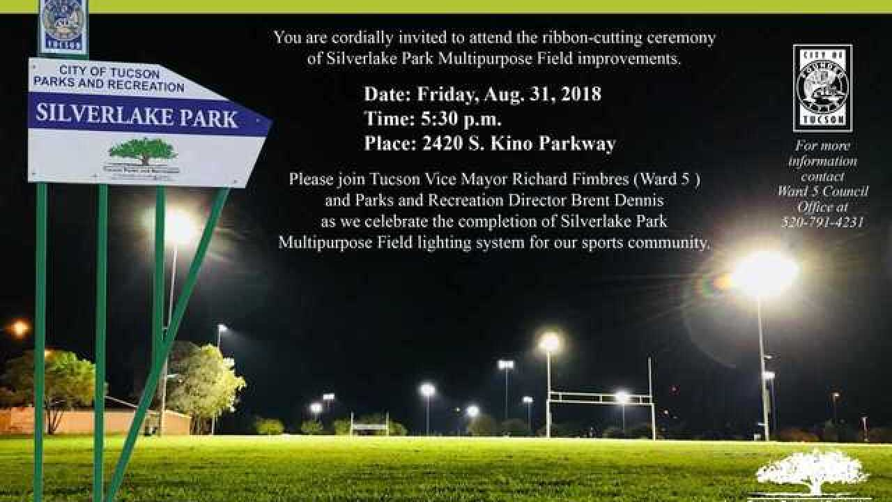 City to Celebrate Silverlake Park Field Improvements