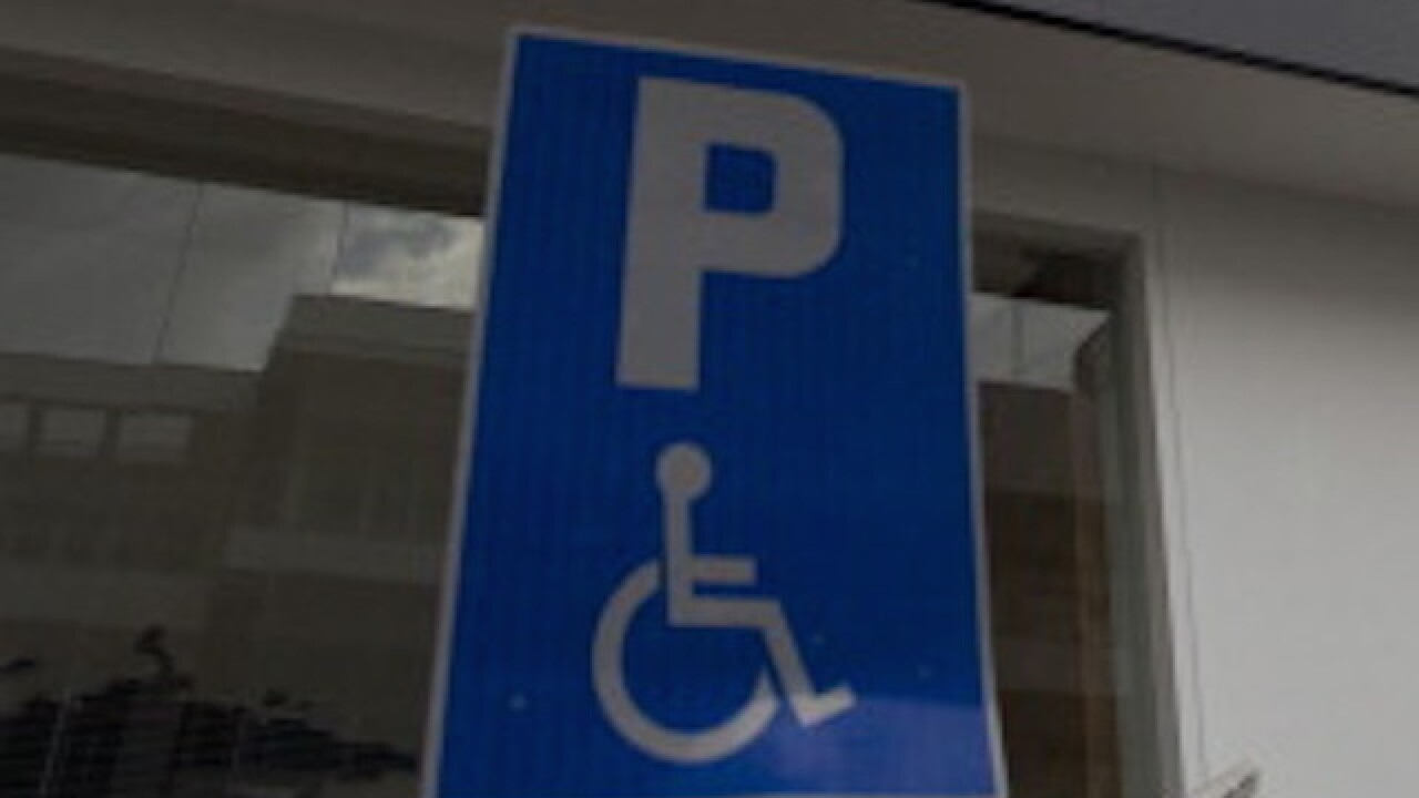 Lawmakers propose to make handicapped signs more dynamic