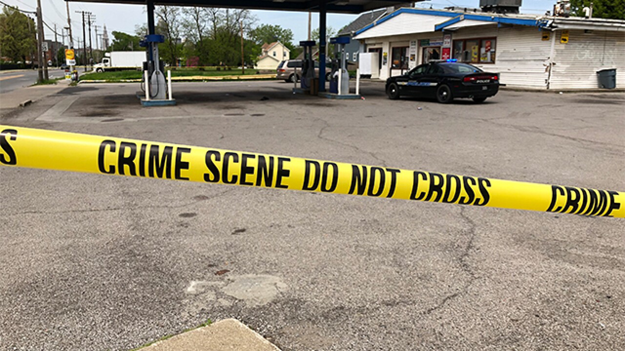 Near Gas Station >> Two People Shot Near Cleveland Gas Station