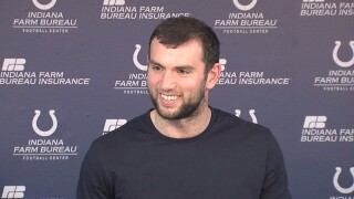 Andrew Luck returns to the Colts, says he doesn't think he'll need another shoulder surgery