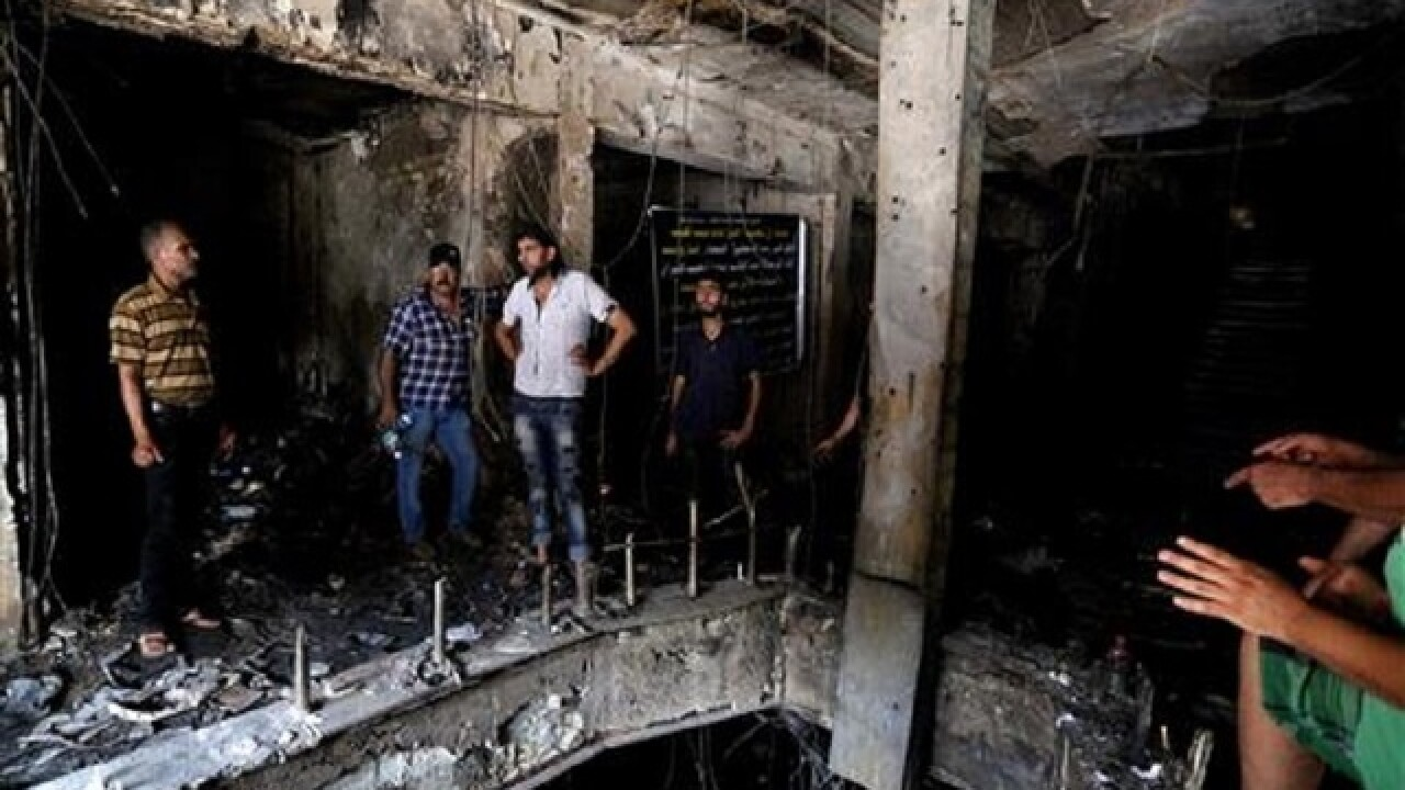 Baghdad suffers deadliest attack in years as confirmed fatalities exceed 200