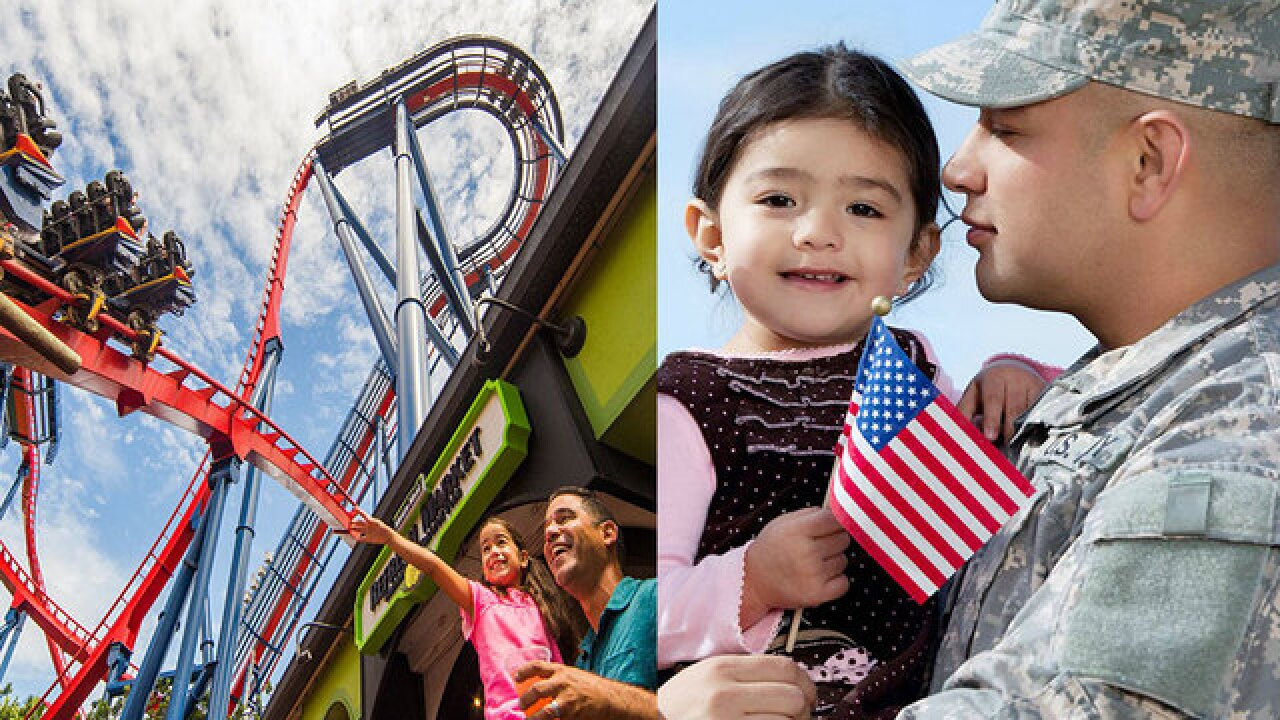 SeaWorld, Busch Gardens offer free admission to U S