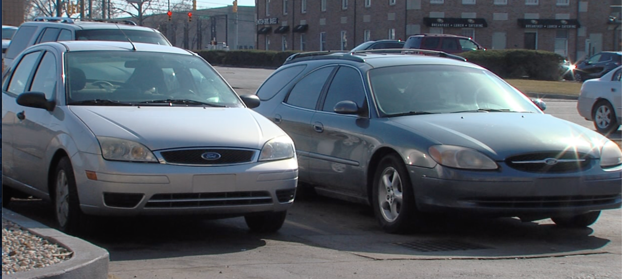 Harry Watson was living in these cars in a Fishers parking lot for about three years.