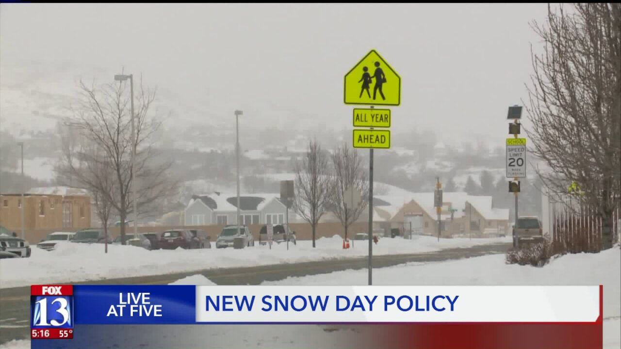 No 'Snowpocalypse,' Instagram memes spur Alpine School District to change snow daypolicy