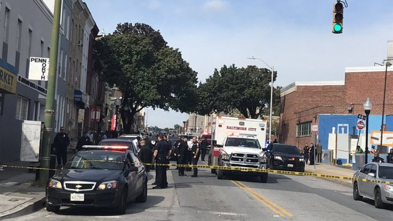 24 shot, 7 dead since Monday in Baltimore City