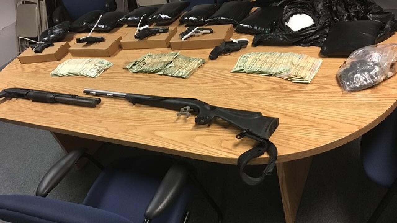 Indy drug bust nets $750K in drugs, guns & cash