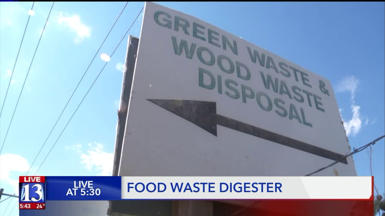 Food waste becomes energy at new plant in North Salt Lake