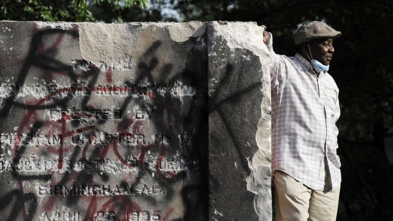 Confederate monuments targeted by protests come down